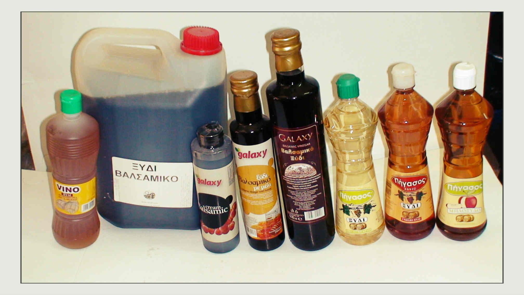 Ξίδια όλων των ειδών - Κρέμα ξιδιού - Ξίδι με μέλι